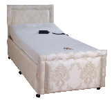 Square single adjustable profiling bed
