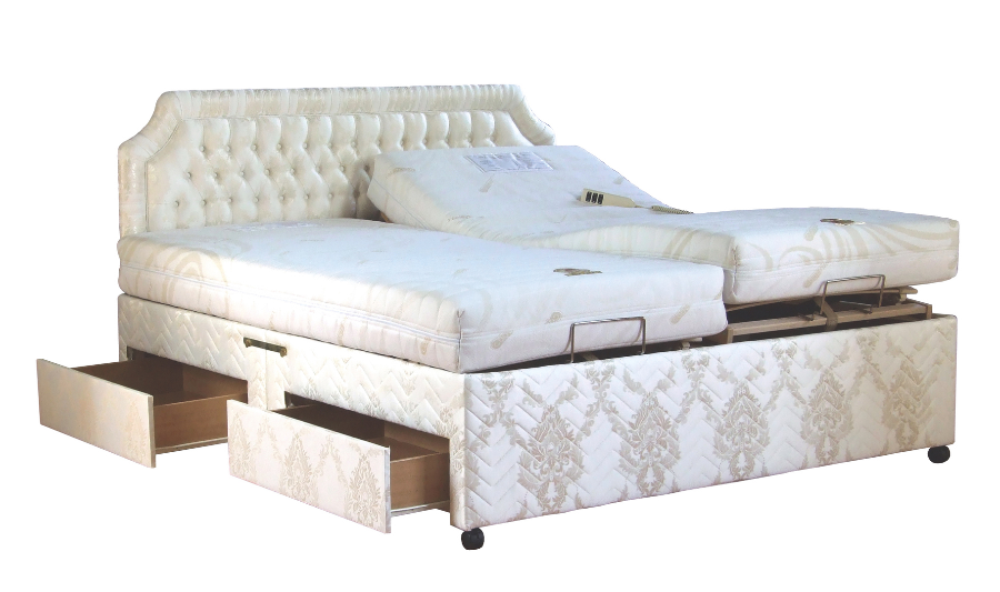 Orwoods Adjustable Bariatric High Low Bed Solutions Full Divan Beds