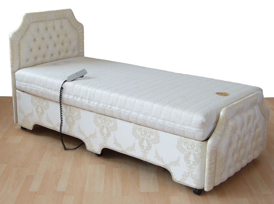 Adjustable Beds That Raise And Lower : Orwoods adjustable bariatric high low bed solutions