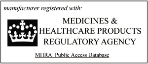 Medicines & Healthcare products Regulatory Authority registered